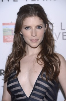 Anna Kendrick attends the premiere of 'The Last Five Years' at in Hollywood on February 11, 2015