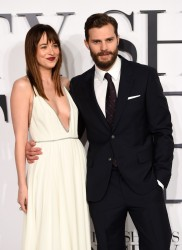 "Dakota Johnson - ""Fifty Shades of Grey"" Premiere in London 2/12/15"