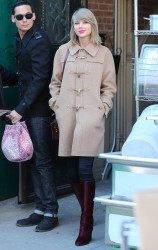 Taylor Swift - out and about in NYC 02/13/14