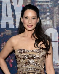 Lucy Liu - SNL 40th Anniversary Celebration in NYC 2/15/15