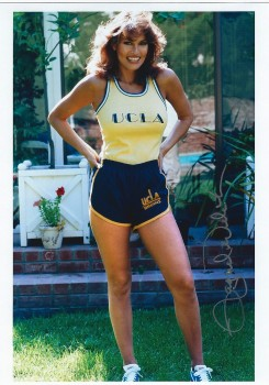 Raquel Welch: Sexy In UCLA Track Uniform - HQ x 1