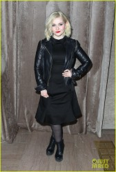 Abigail Breslin - Zac Posen Fall 2015 Fashion Show in NYC 2/16/15