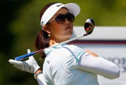Michelle Wie at the North Texas LPGA Shootout 4/30/14 - 5/3/14