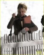 """Jennifer Lawrence - Filming """"Joy"""" in Boston 2/19/15"""
