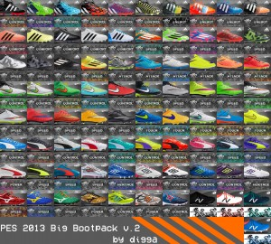 Download PES 2013 Big Bootpack version 2 by digga