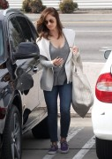 Minka Kelly - Going to Alteration By Sofia in Beverly Hills 2/20/15