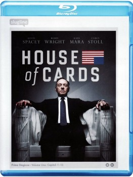 House of Cards - Gli intrighi del potere - Stagione 1 (2013) [4-Blu-Ray] Full Blu-ray 160Gb AVC ITA SPA DD 5.1 ENG DTS-HD MA 5.1