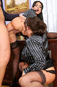Office Anal with Anissa and Nikita Cover