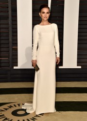 Natalie Portman - 2015 Vanity Fair Oscar Party in Beverly Hills 2/22/15