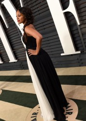 Zoe Saldana - 2015 Vanity Fair Oscar Party in Beverly Hills 2/22/15