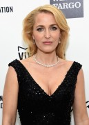 Gillian Anderson - 23th Annual Elton John AIDS Foundation Oscar Party 22.2.2015 x9