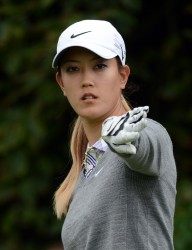 Michelle Wie at the Canadian Women's Open at The Vancouver Golf Club 8/22/12 - 8/23/12