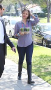 Zoe Saldana out in Los Angeles February 25-2015 x19