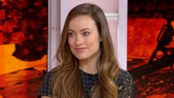 Olivia Wilde inside and outside at The Today Show in New York on February, 26, 2015
