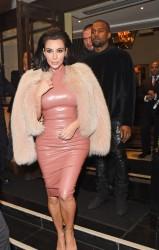 Kim Kardashian - Leaving her hotel in London 2/26/15