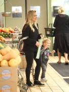 Hilary Duff - Shopping at Whole Foods in Beverly Hills 2/27/15