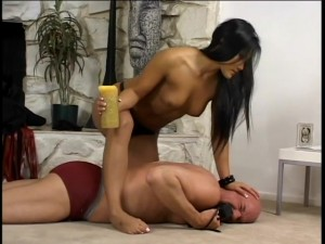 Christina Aguchi Is A Dominatrix Scene 3