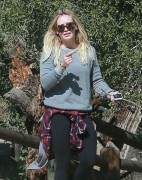 Hilary Duff - At TreePeople Park in Beverly Hills 3/3/15