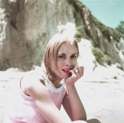 Janet Leight - 1954 Beach Photoshoot