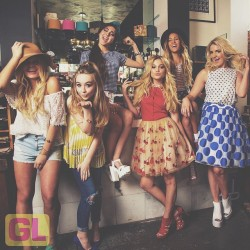 Olivia Holt, Rydel Lynch and others in an Instagram