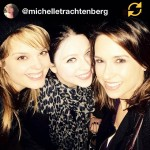 Michelle Trachtenberg - Instagram picture, smiling