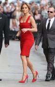 Jennifer Lopez - Arriving at 'Jimmy Kimmel Live!' in Hollywood 3/10/15