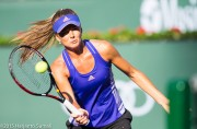 Daniela Hantuchova - Training @ 2015 BNP Paribas Open