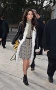 Selena Gomez - Louis Vuitton Fall 2015 Fashion Show in Paris 3/11/15