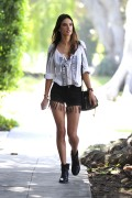 Alessandra Ambrosio | Out in Brentwood | March 9 | 28 pics