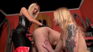 Fun with Two Slavegirls and One Slave HD
