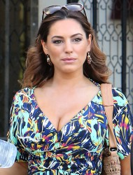 Kelly Brook - Leaving Her Home In West Hollywood - March 14 2015