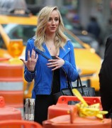 Nastia Liukin - filming at Times Square in NY March 4-2015 x16