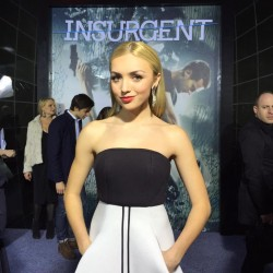 Peyton Roi List - Insurgent premiere in NYC 3/16/15