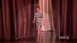 "Sasha Alexander on Conan ""leggy""  3/18/15"