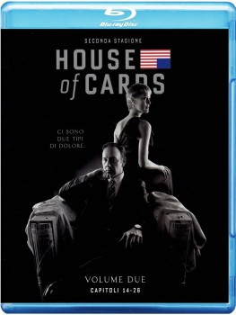 House of Cards - Gli intrighi del potere - Stagione 2 (2014) [4-Blu-Ray] Full Blu-Ray 161Gb AVC ITA SPA ENG DTS-HD MA 5.1