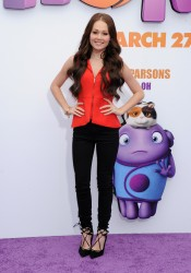 Kelli Berglund - 'HOME' premiere in Westwood - March 22,2015