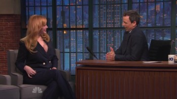 CHRISTINA HENDRICKS - Late Night 03.23.15