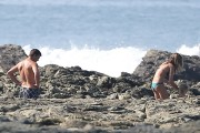 Gisele Buendchen | Bikini Candids on the Beach in Costa Rica | March 23 | 85 pics