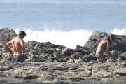 Gisele Buendchen | Bikini Candids on the Beach in Costa Rica | March 23 | 85 pics