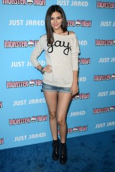 Victoria Justice - JustJared's Throwback Thursday Party - 3/26/15