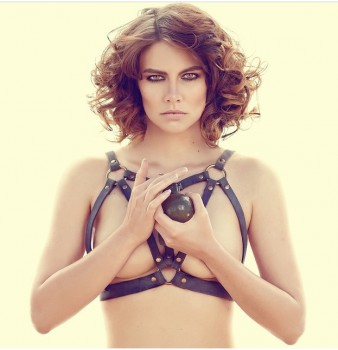 Lauren Cohan - Hot Instagram Pic 3/27/15