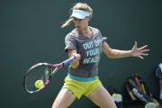 Eugenie Bouchard Practice during the Miami Open Tennis tournament in Key Biscayne March 26-2015 x10