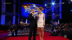 Maria Menounos - WWE Hall of Fame 2015 Red Carpet