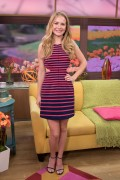 "Britt Robertson @ ""Despierta America"" in Miami 